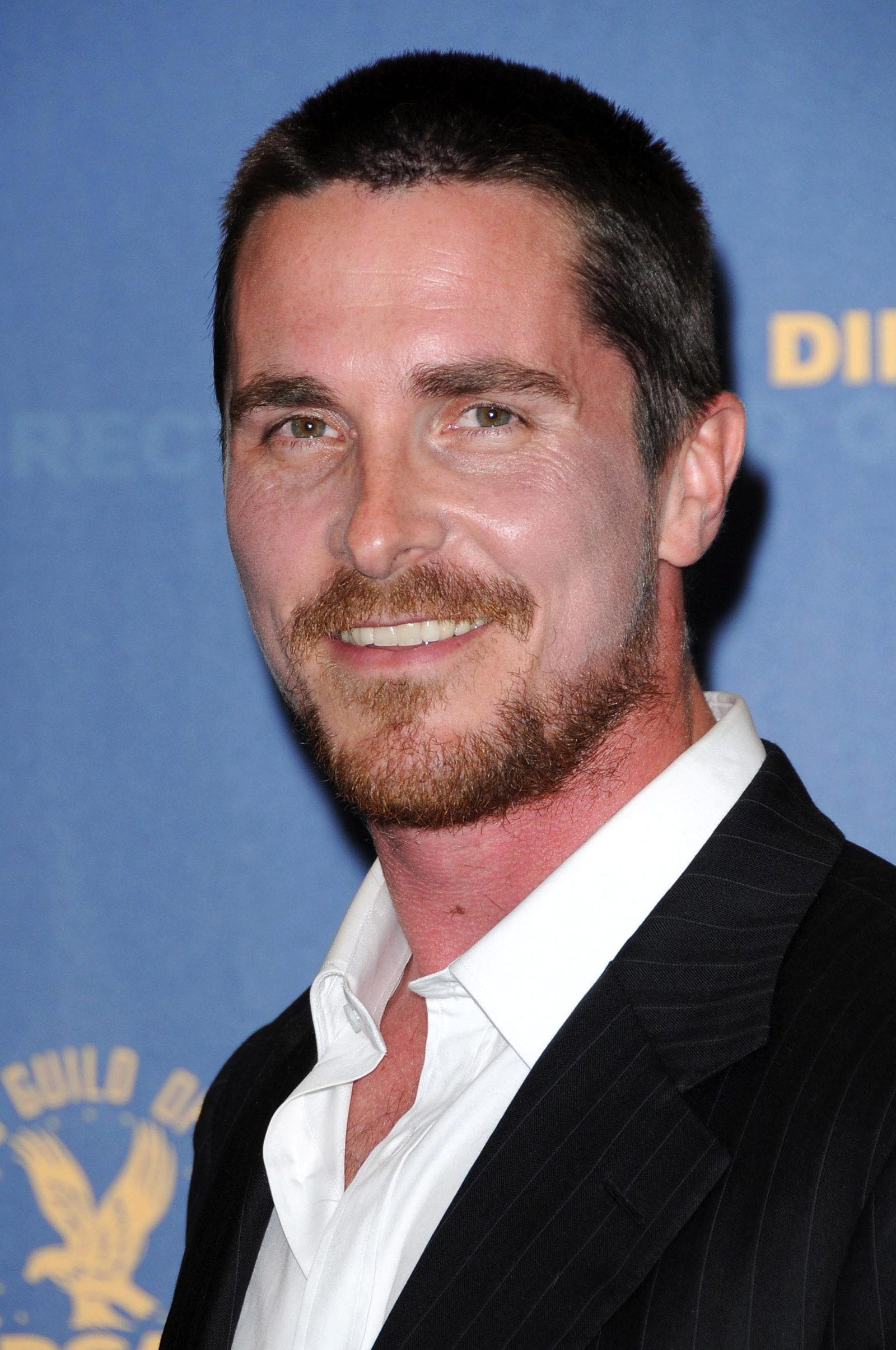 Christian bale crew cut for receding hairline