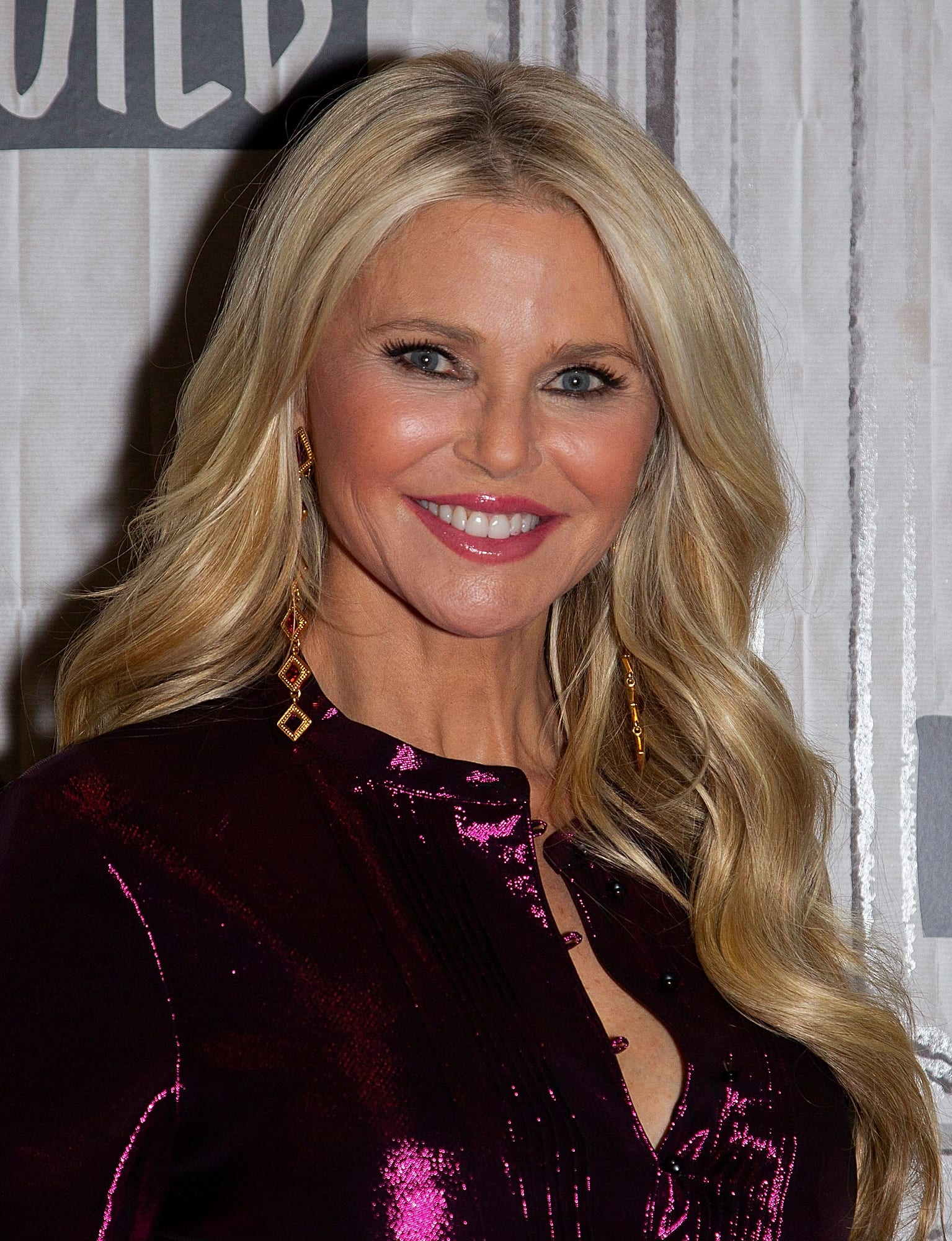 Christie Brinkley's Golden Waves