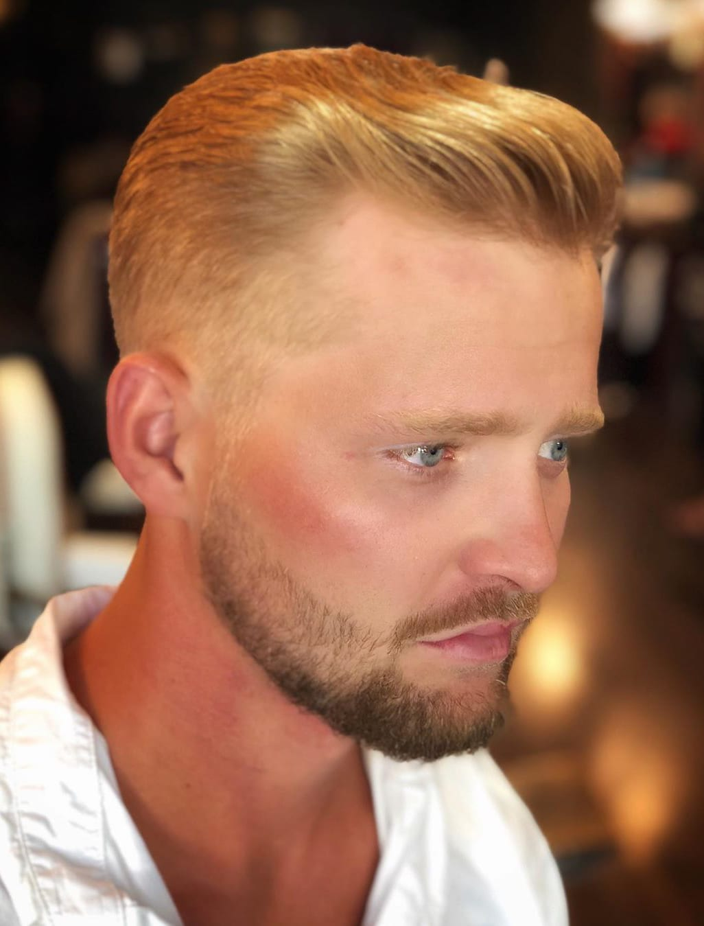Classic Taper and Brush-Back