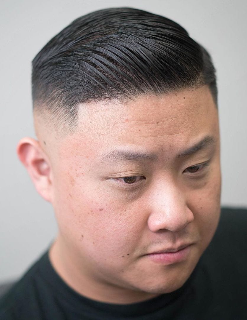 Classy Side Part with Skin Fade