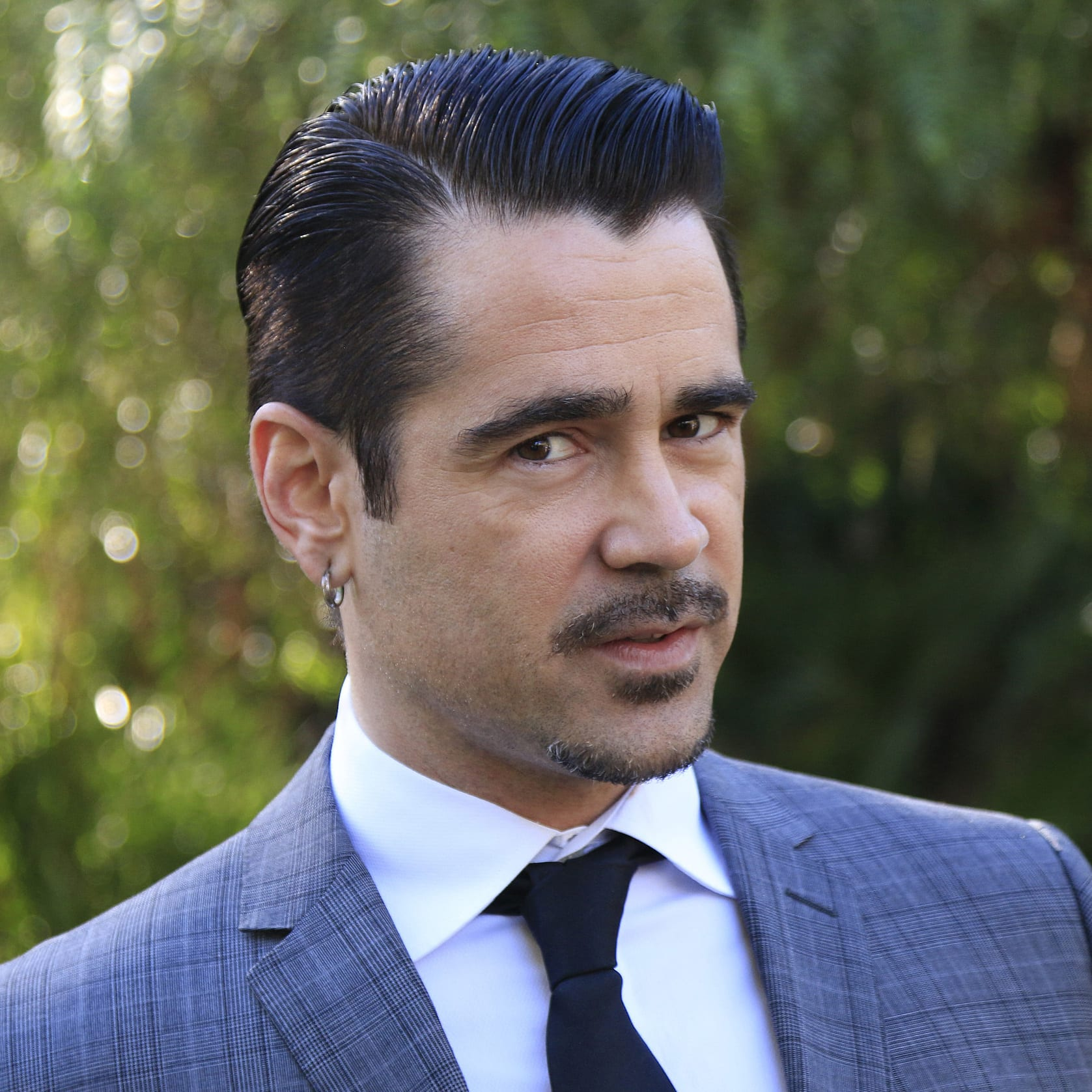 Colin Farrell Slicked Back Side Part