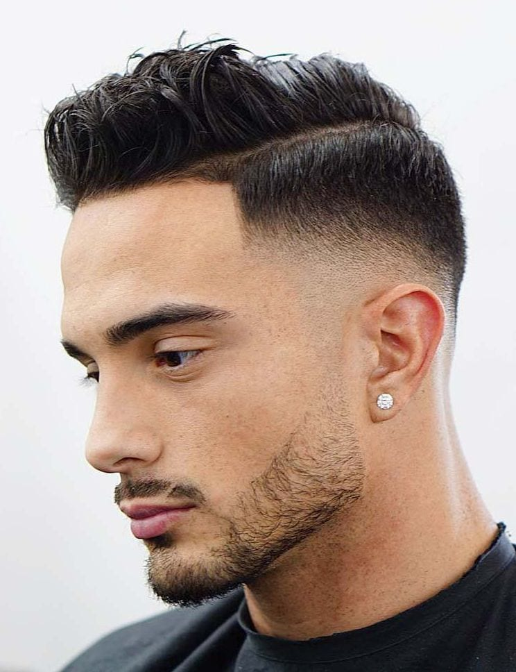Comp Over Side Part + Drop fade