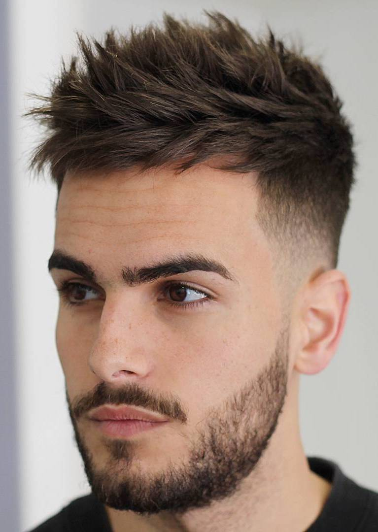 Confident Texture with Taper Fade