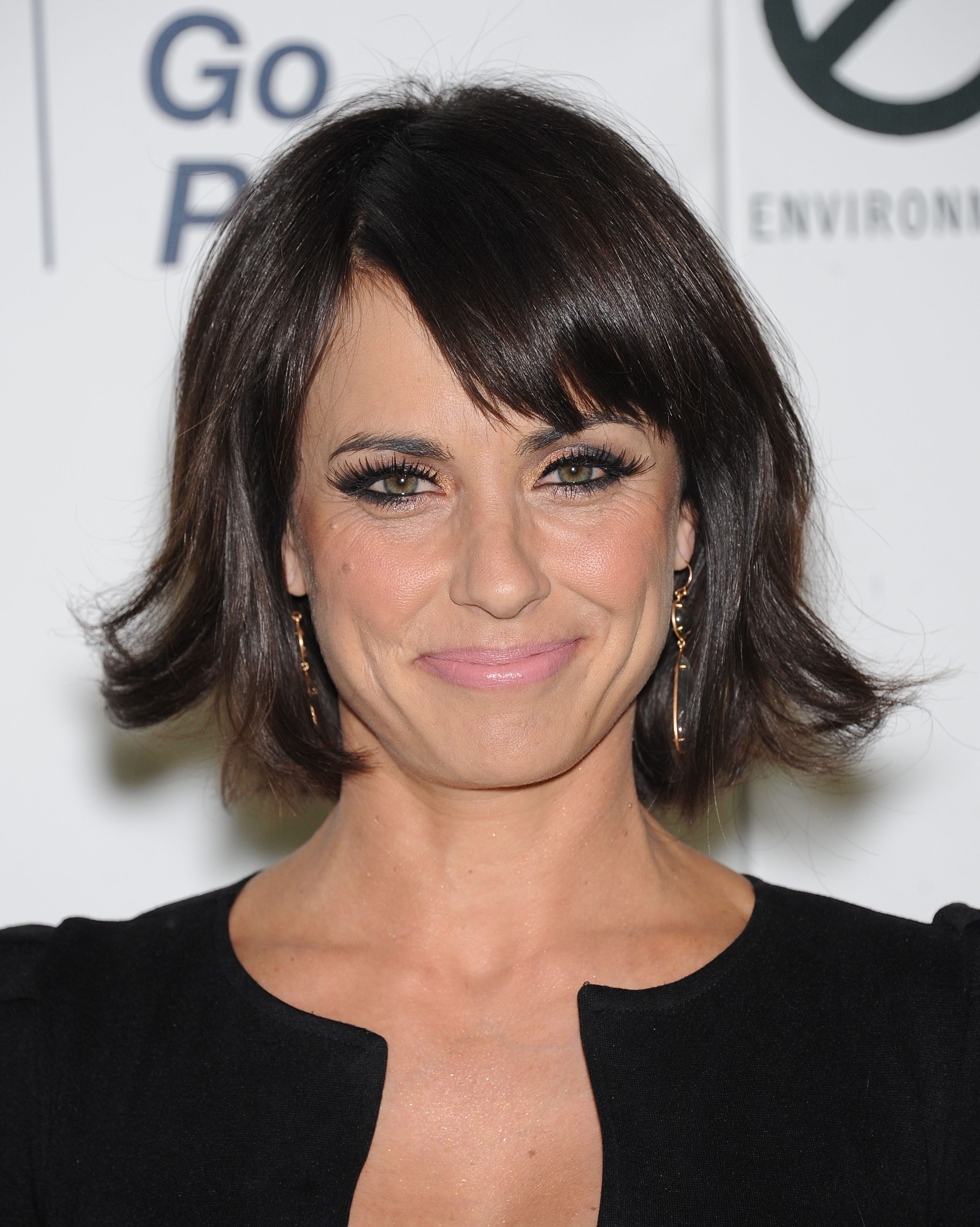 Constance Zimmer's Flippy Bob with Side Bangs