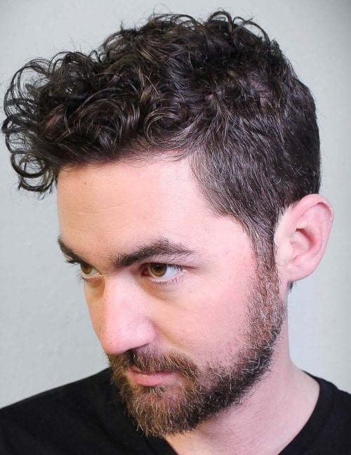 40 Modern Men\'s Hairstyles for Curly Hair (That Will Change Your Look)