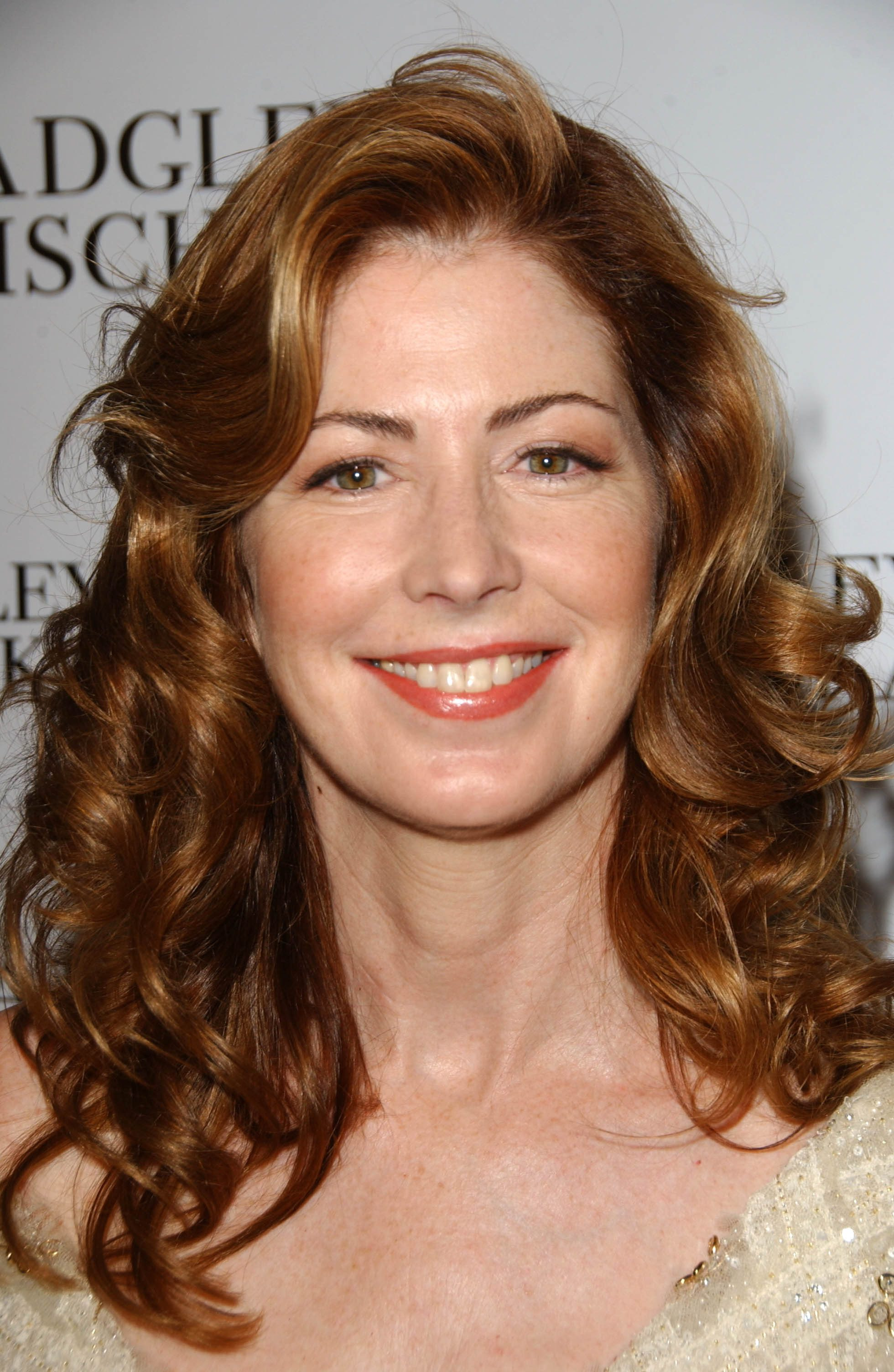 Dana Delany Puffing the Top Curl