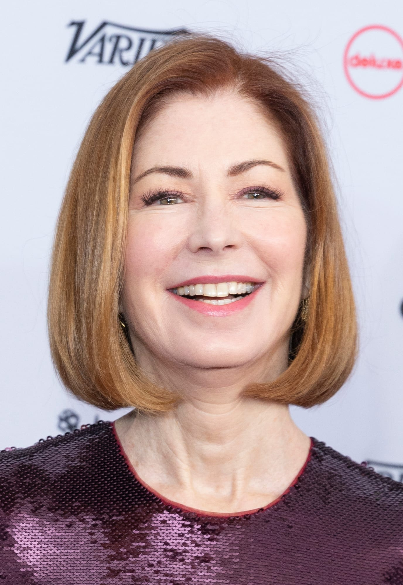 Dana Delany's Strawberry Blonde Bob
