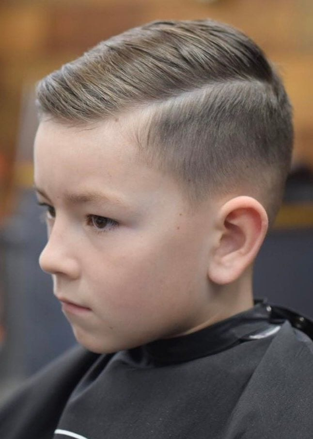 hair cutting style boys 25 excellent school haircuts for boys styling tips 6382 | Dape Side Part e1538365722265