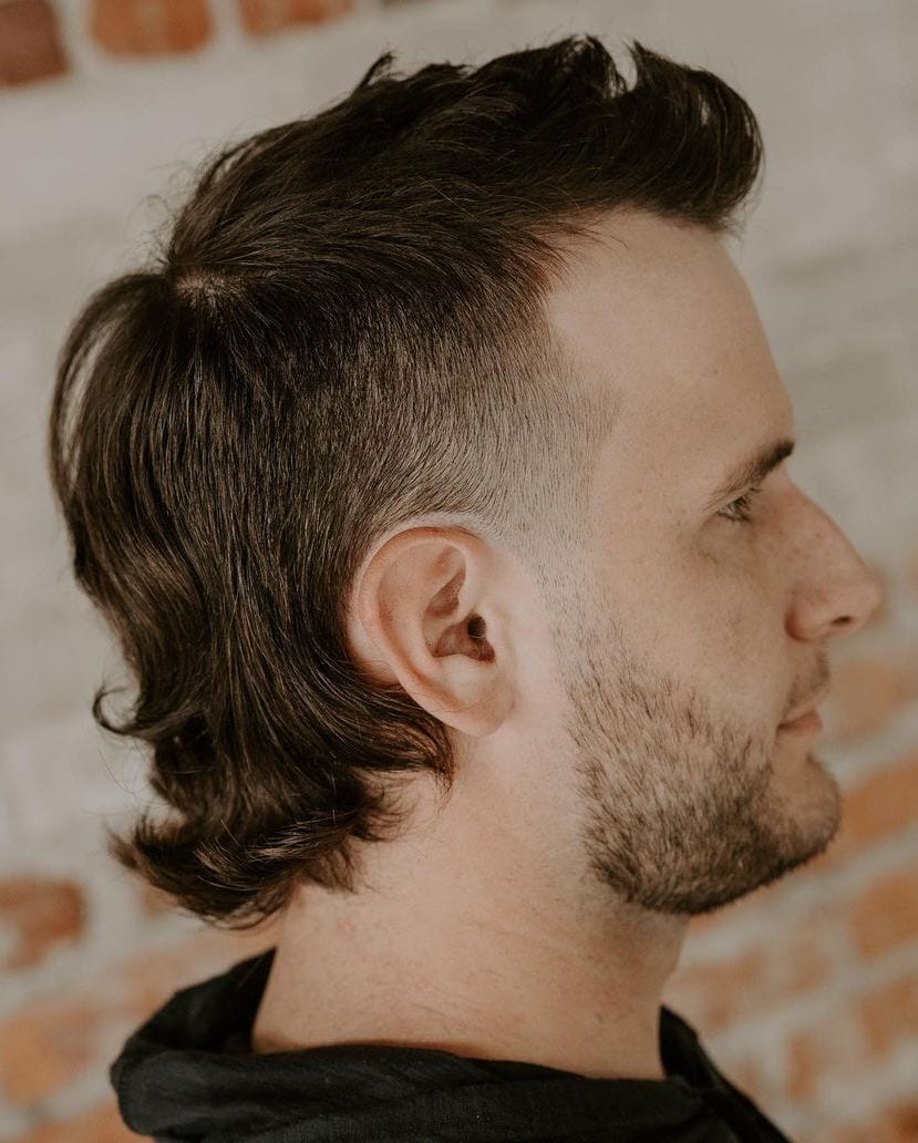 Dapper Mullet with Mini Brush Up
