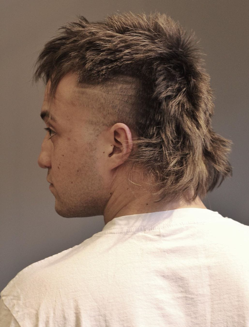 Dashing Mullet with Sides Chopped