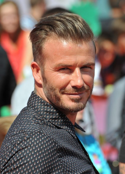 Best Hairstyles For A Receding Hairline Extended - David beckham slicked back hairstyle