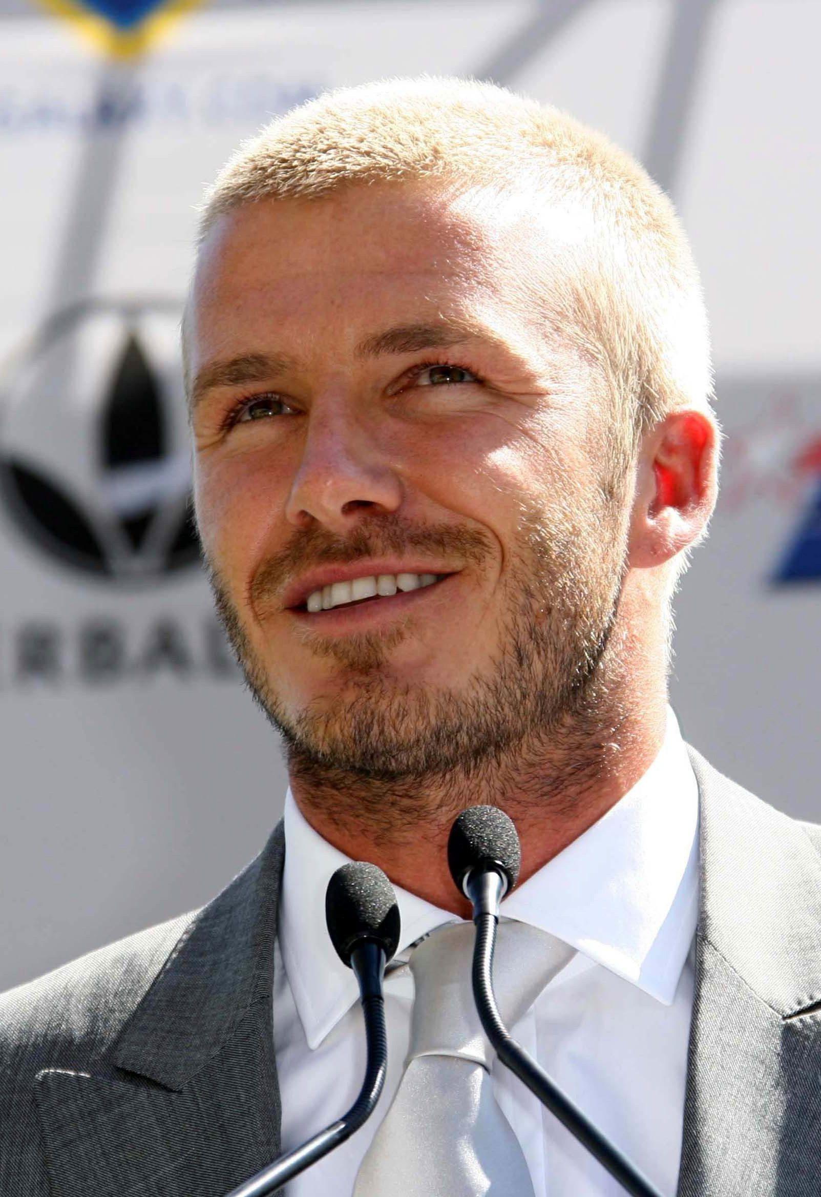 David Beckham's Burr Cut