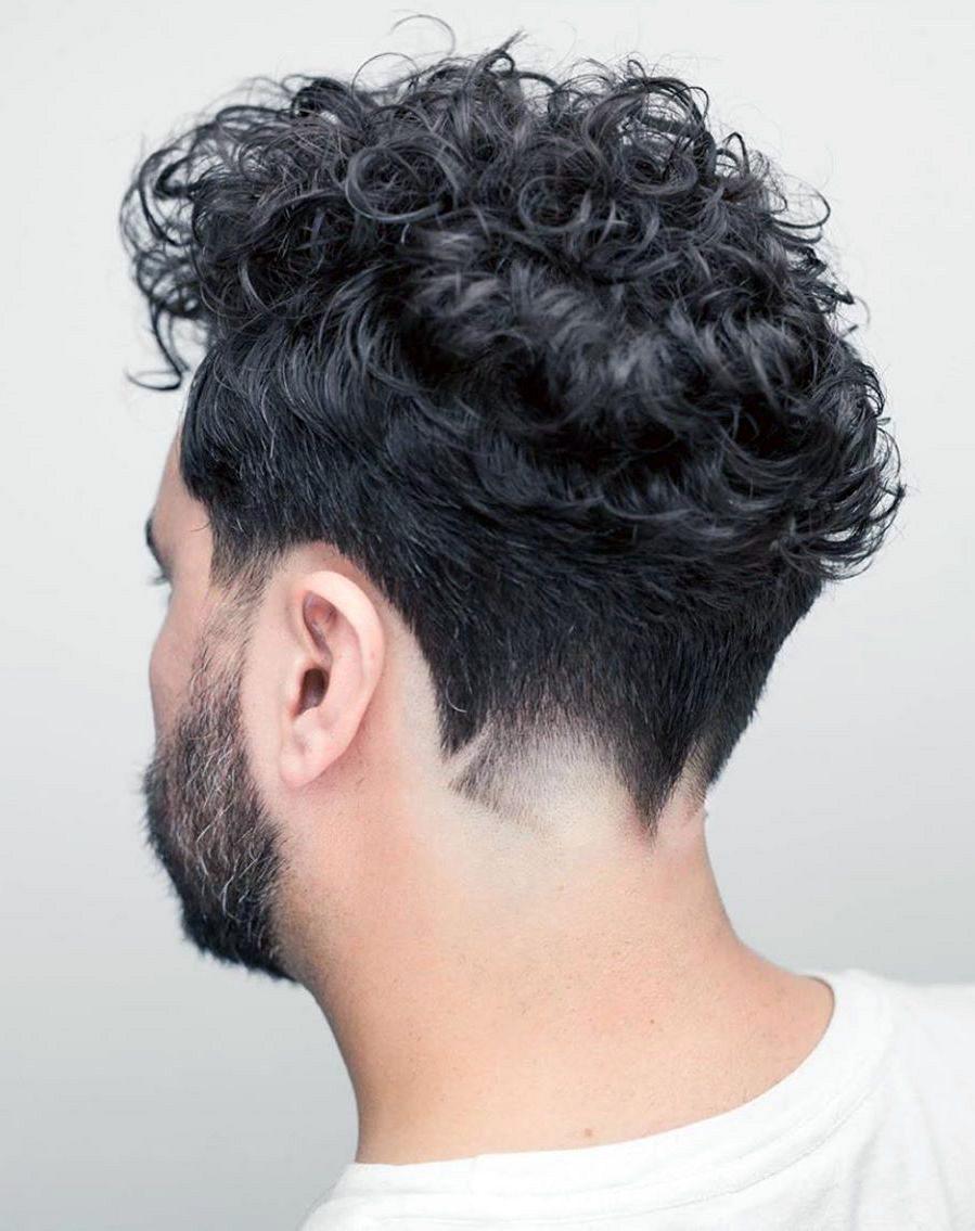 Dense Curls with Fancy Neckline