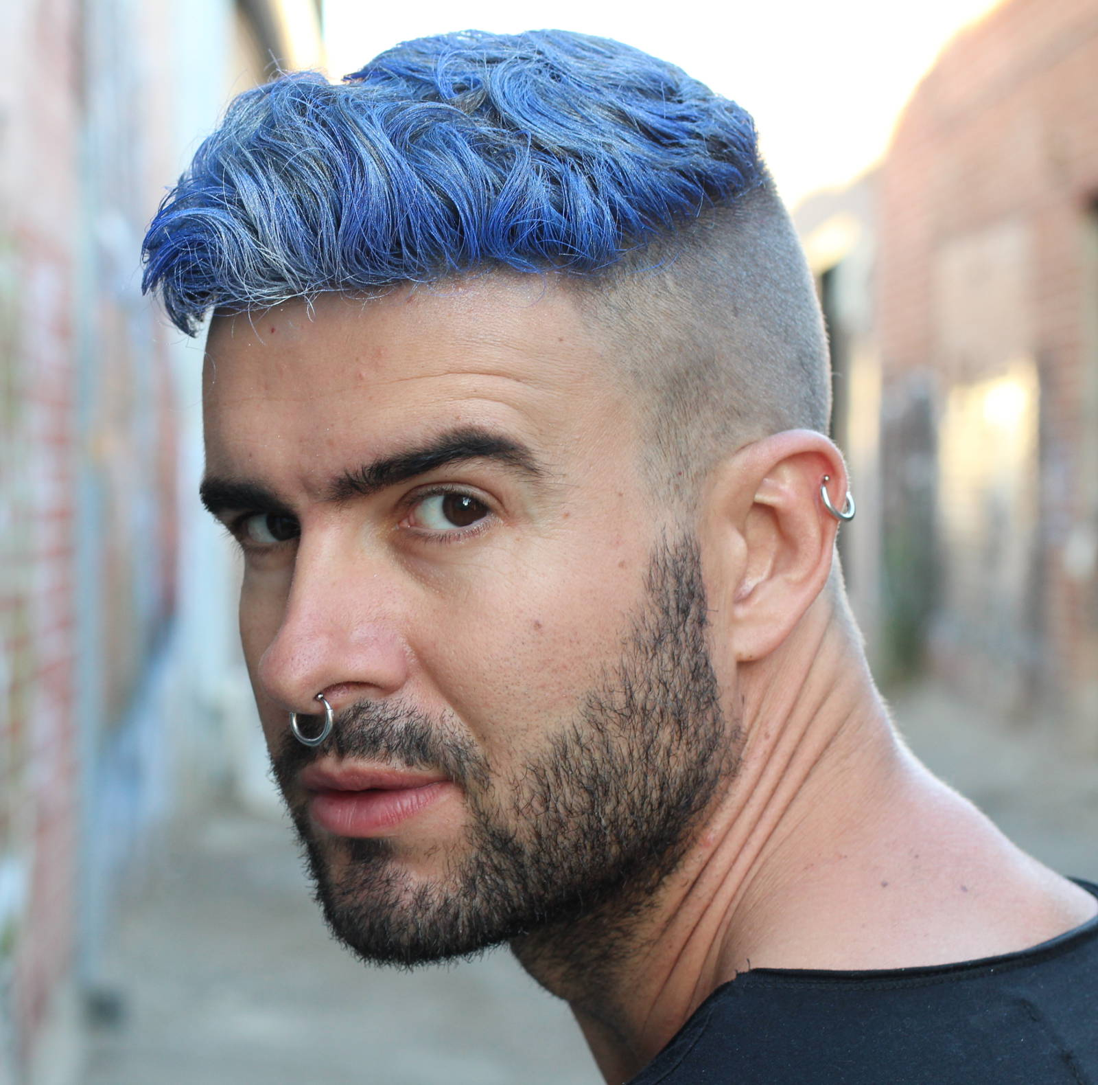 Show Off Your Dyed Hair: 10 Colorful Men's Hairstyles