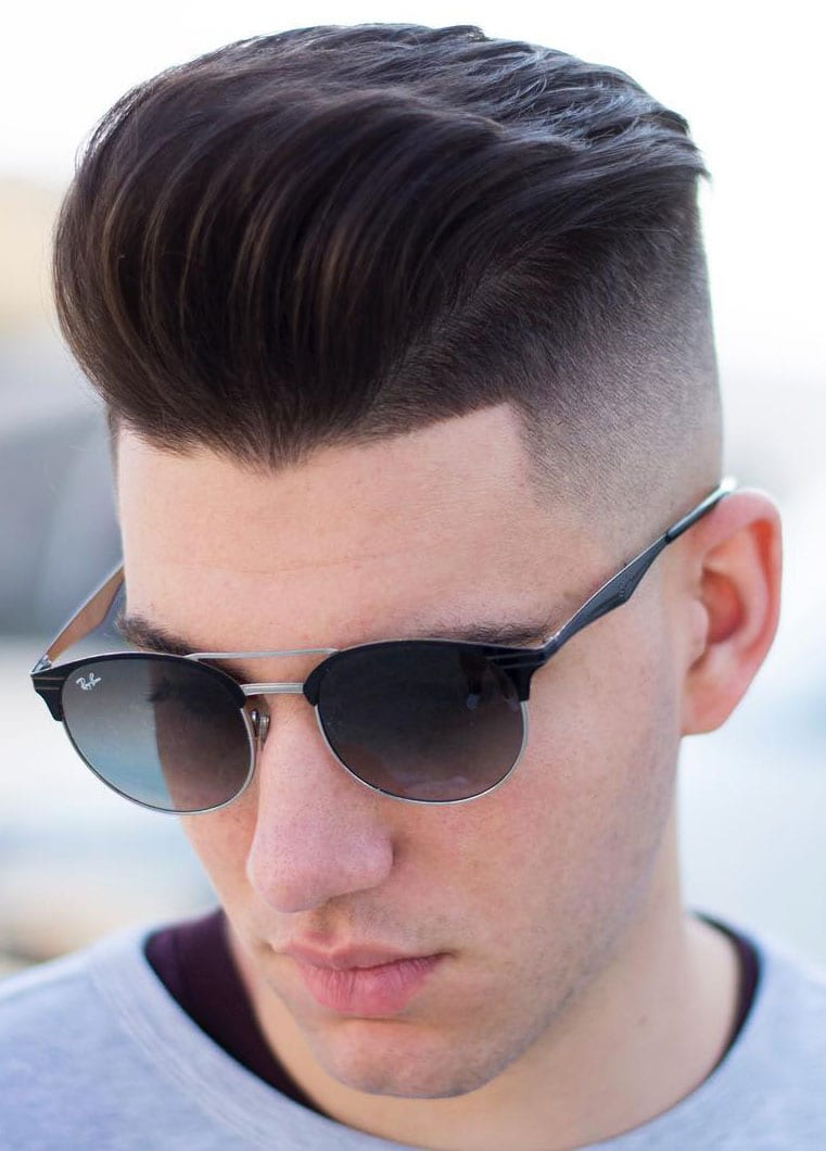 Disconnected Undercut with Quiff on Top
