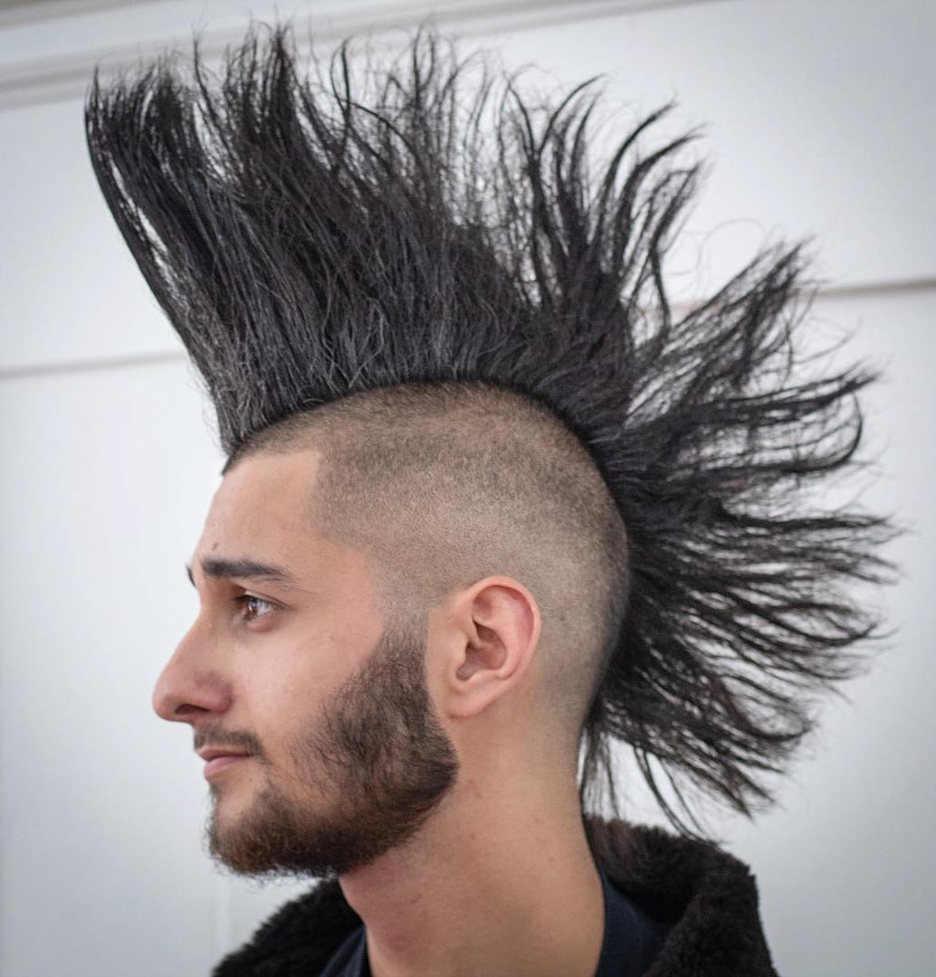 Electrocuted Mohawk