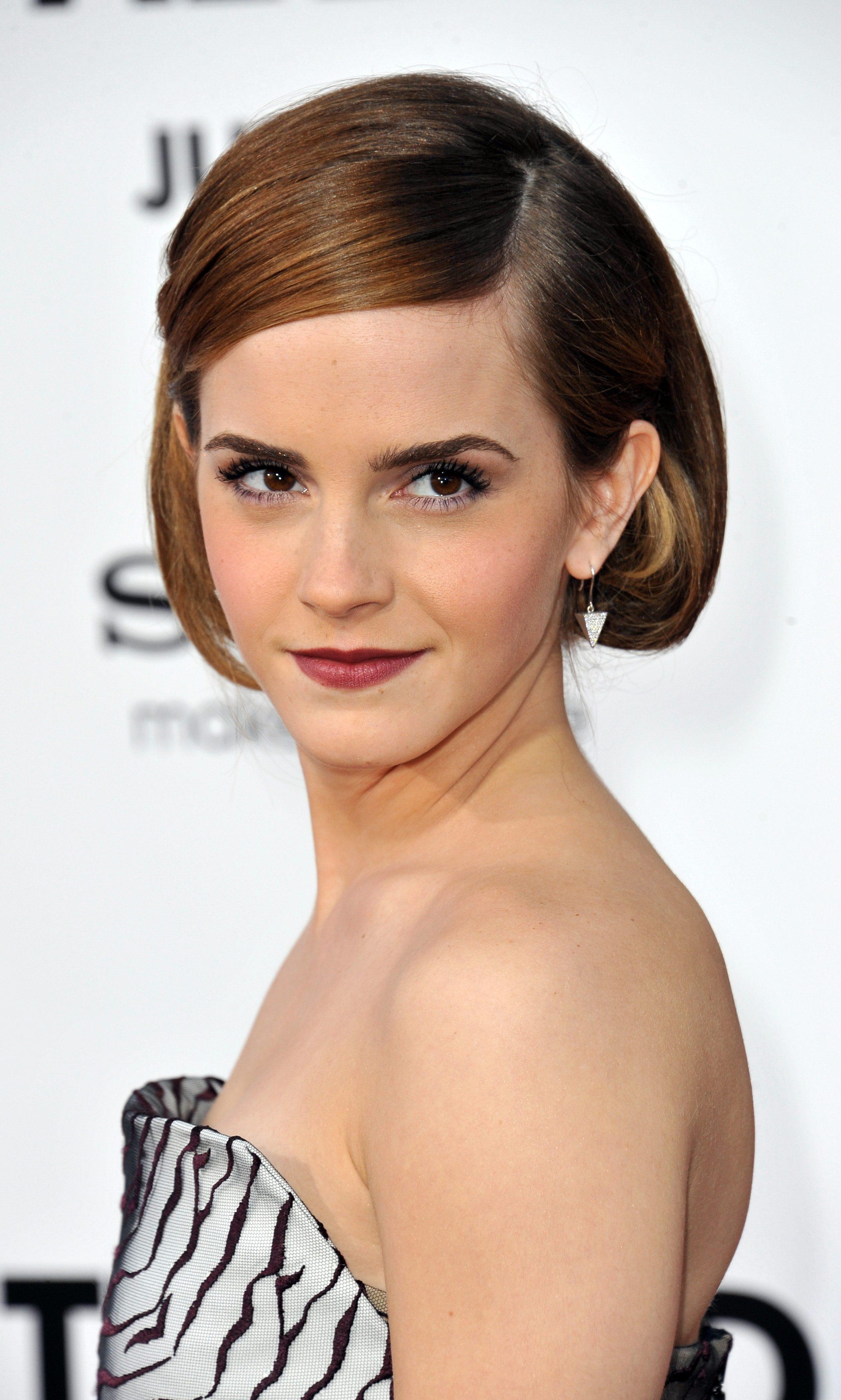 Emma Watson's Bob