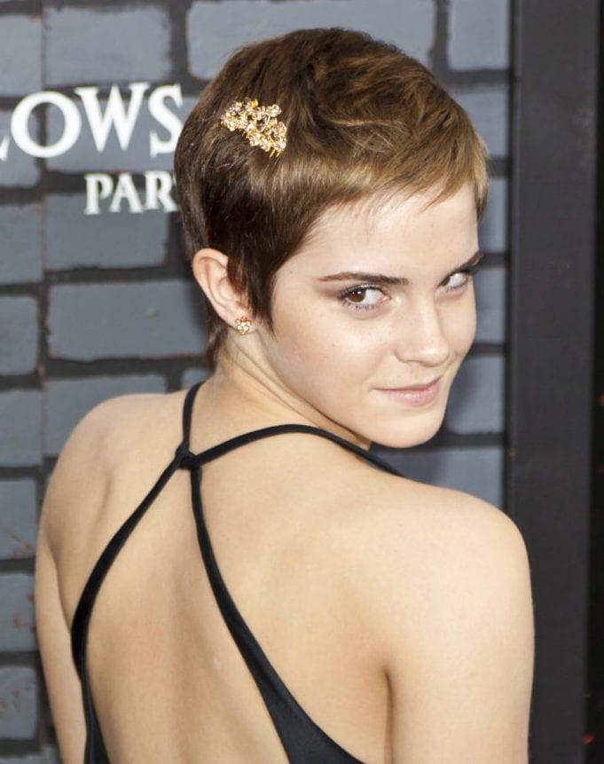 Emma Watson's Textured Pixie