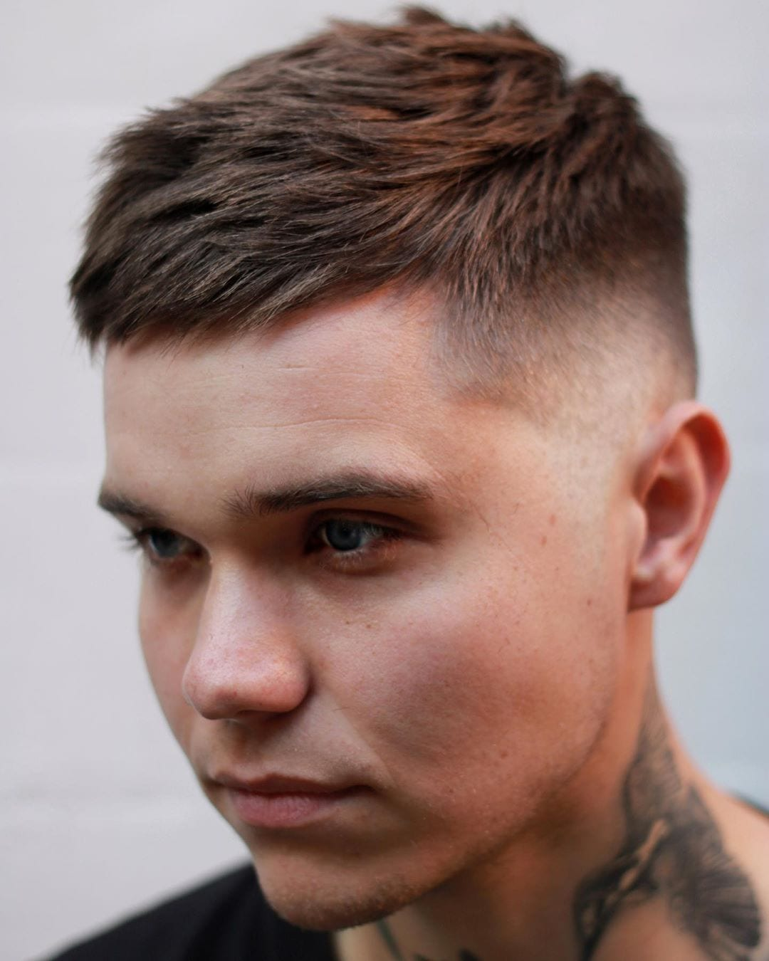 Fancy Longer Butch Cut with Side Sway