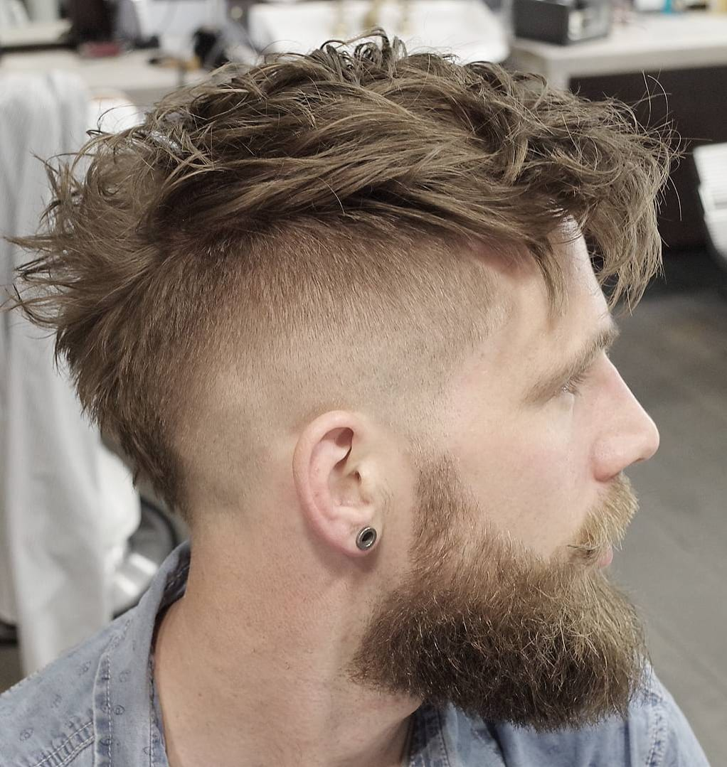 Thick Textured Faux Hawk