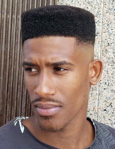 Skin Fade Black Man