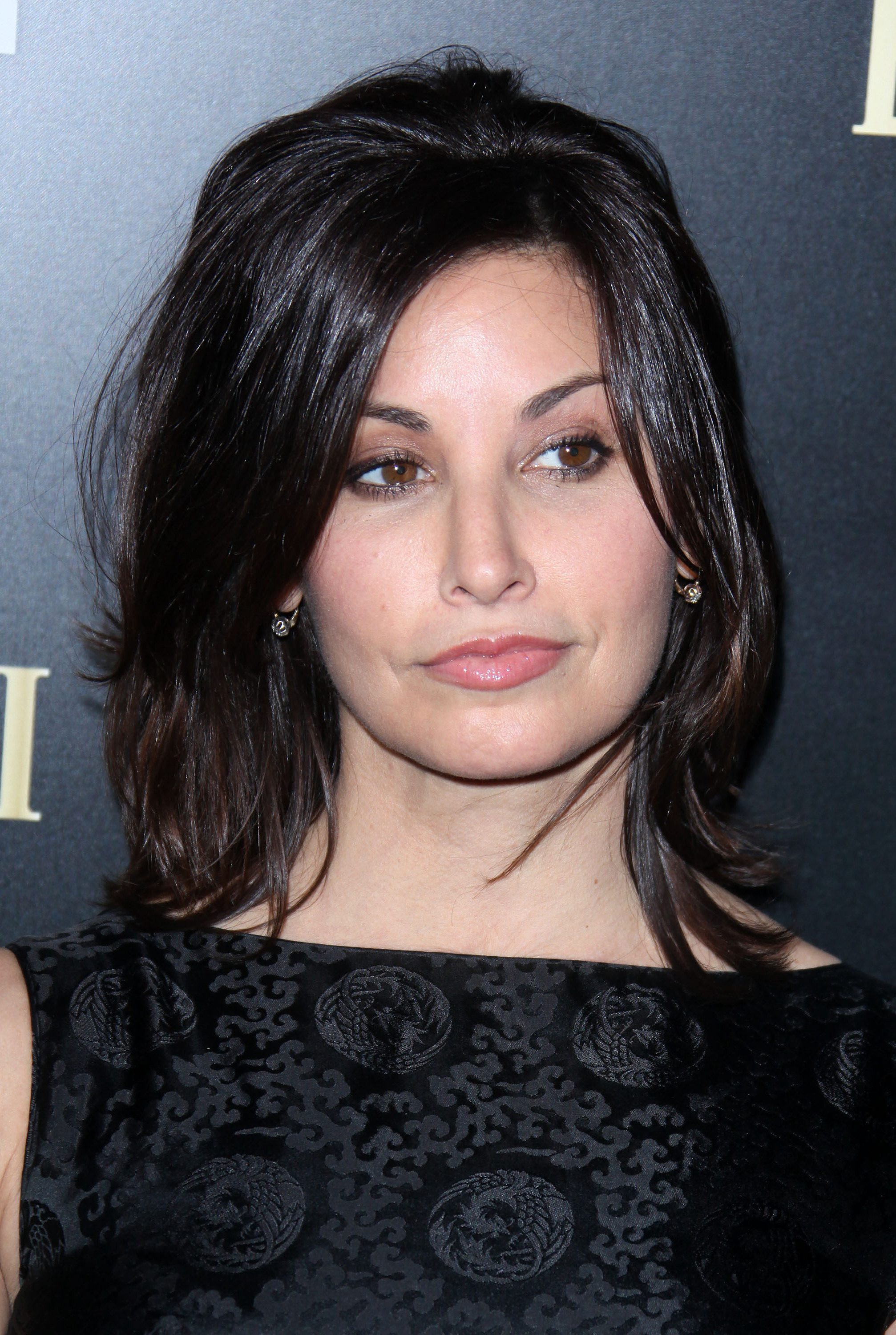 Fluffed Shag with Twin Fringe by Gina Gershon