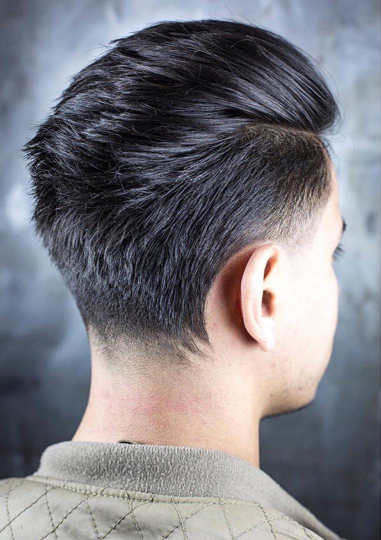 Formal Duck Tail with Undercut