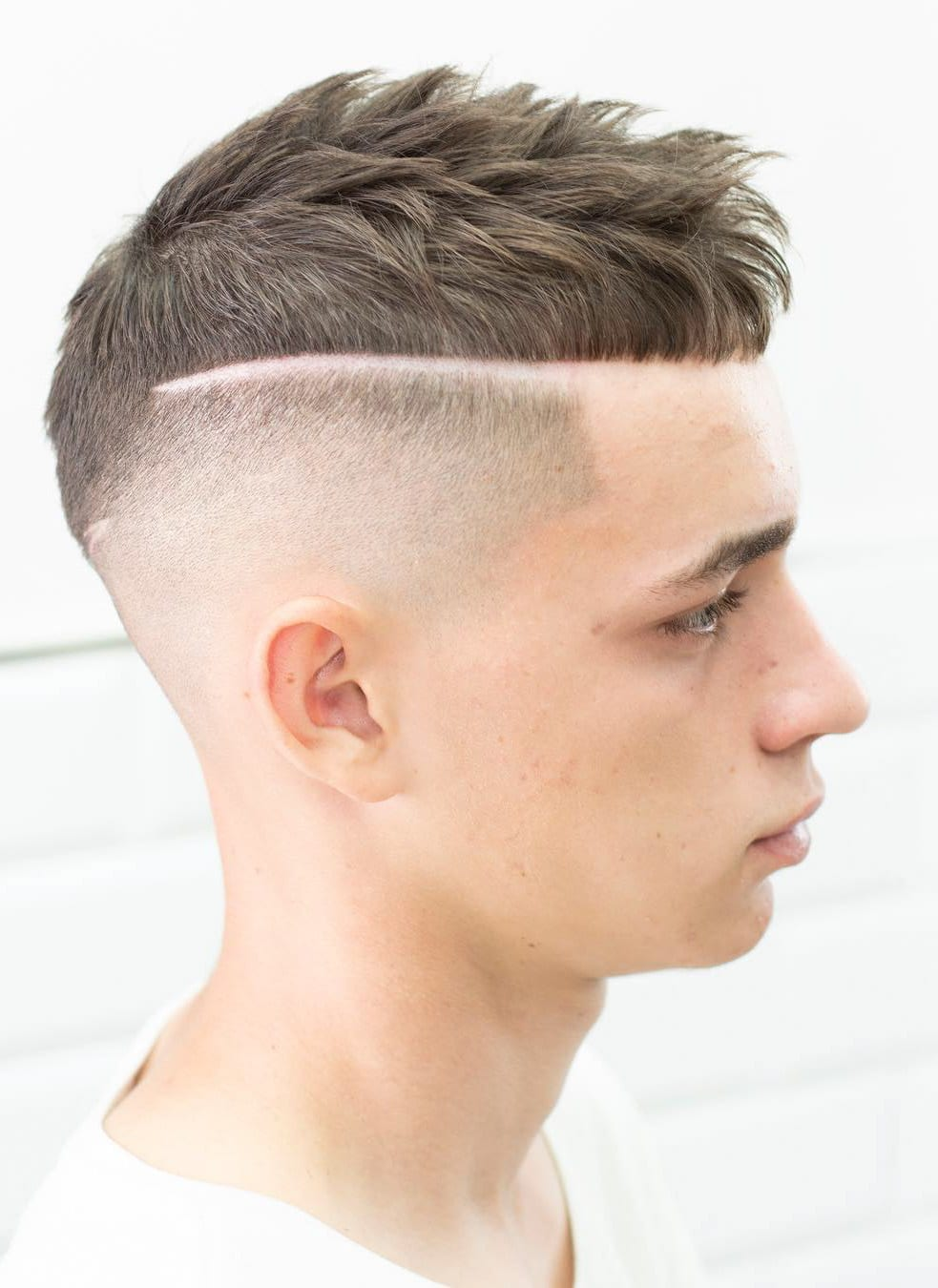 Undercut with Hard Line
