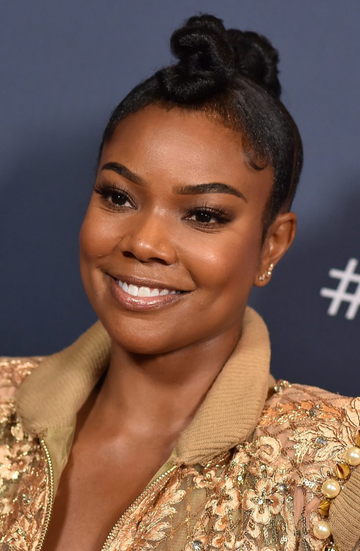 Gabrielle Union in Chic Updo