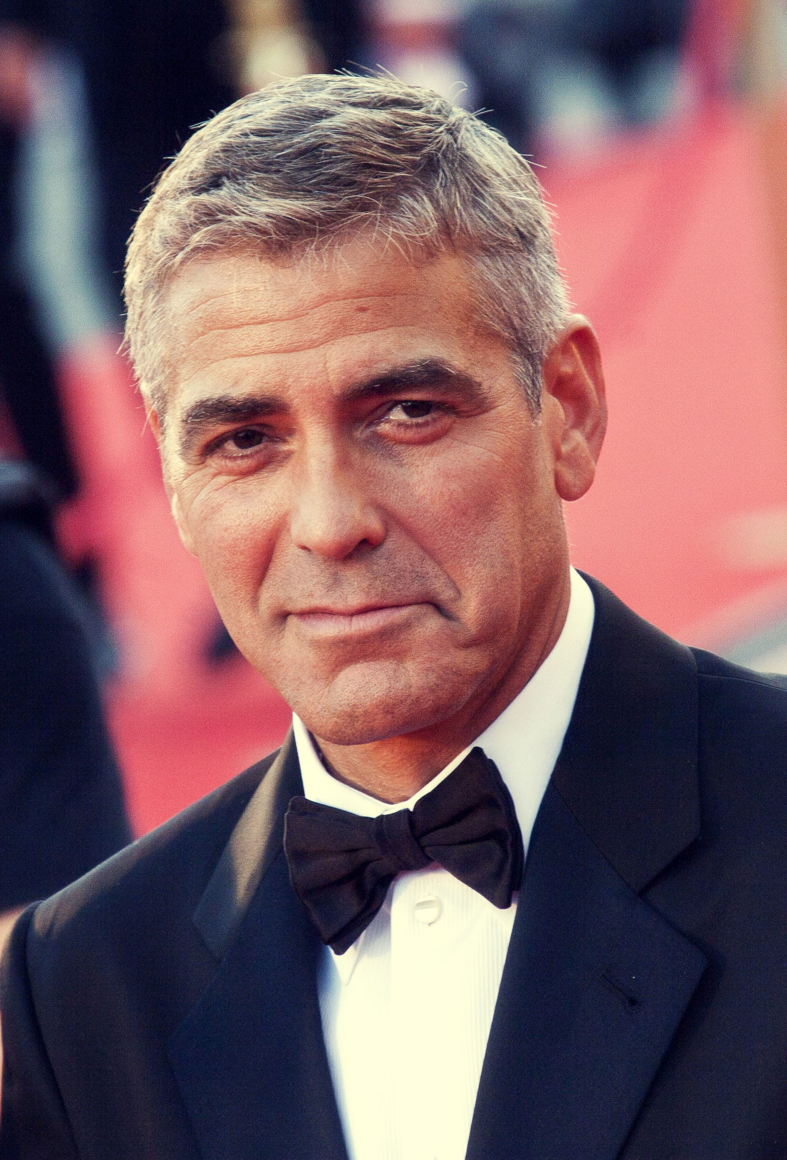 George Clooney's Caeasar haircut