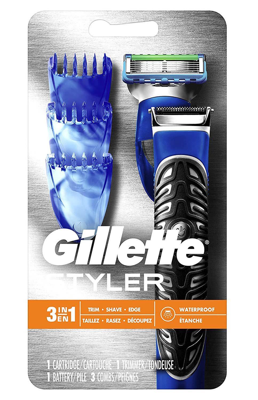 Gillette Styler- Beard Trimmer, Men's Razor & Edger