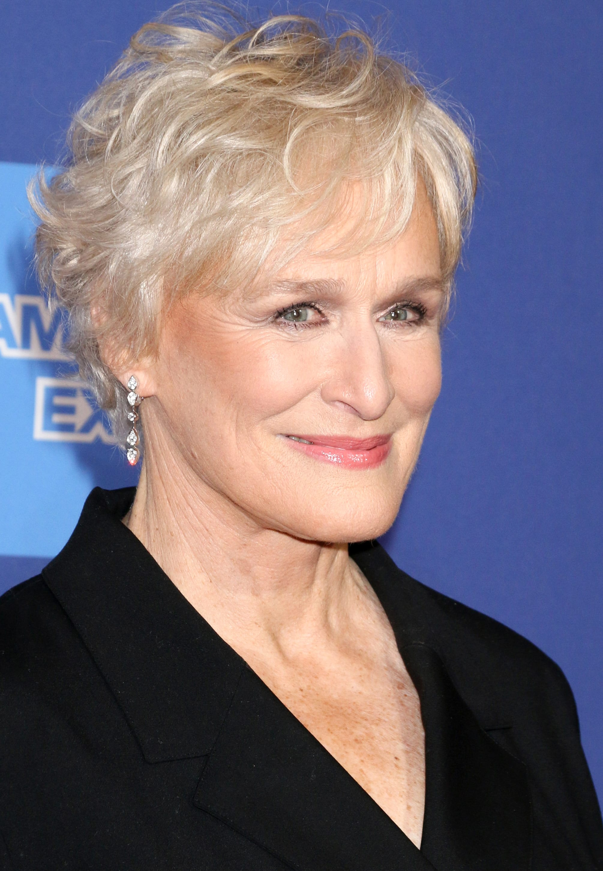 Glenn Close's Tasteful White Crop