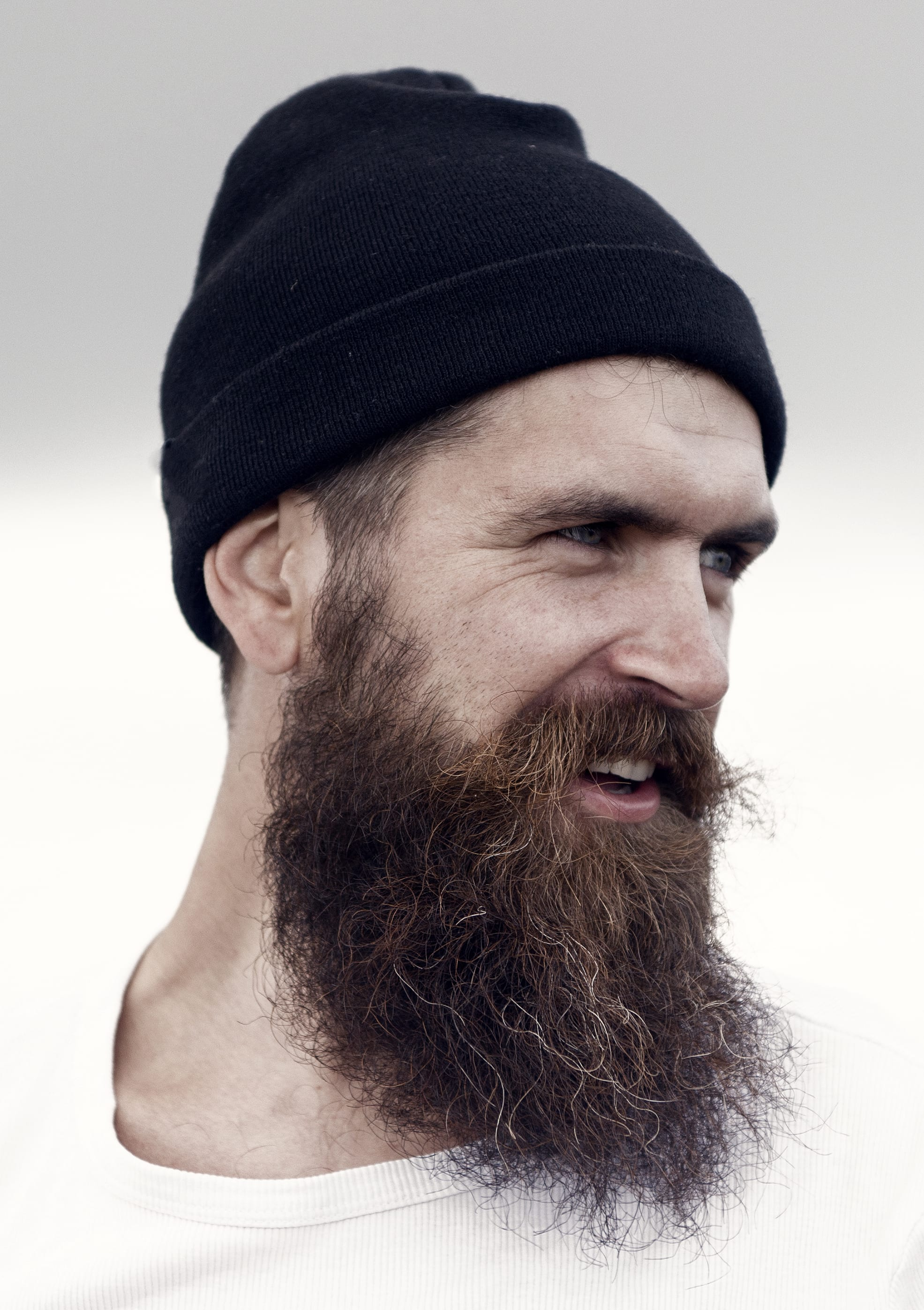 Grizzly Long Beard with Dense Volume