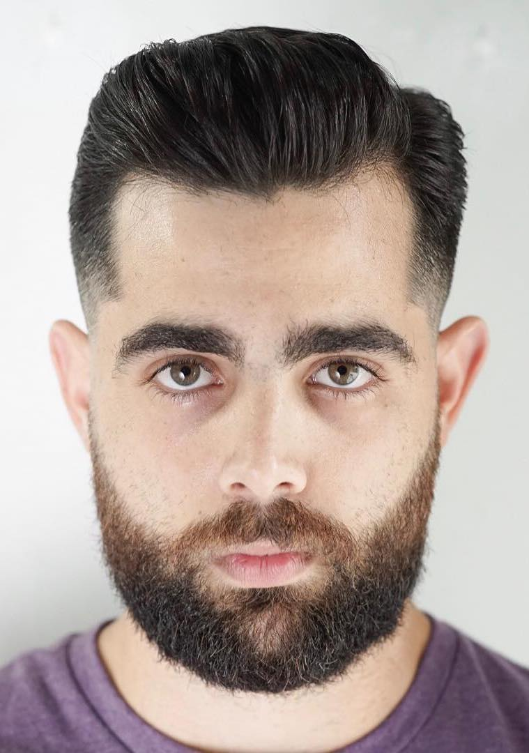 Grizzly Dense Beard with Gentleman Top