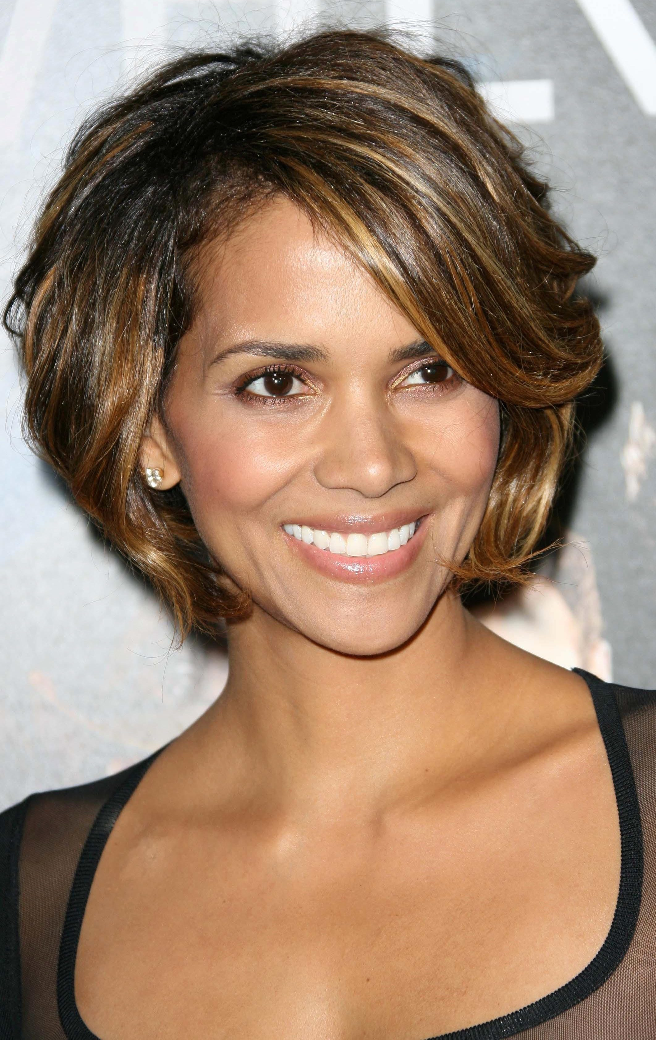 Halle Berry's Rounded Short Bob