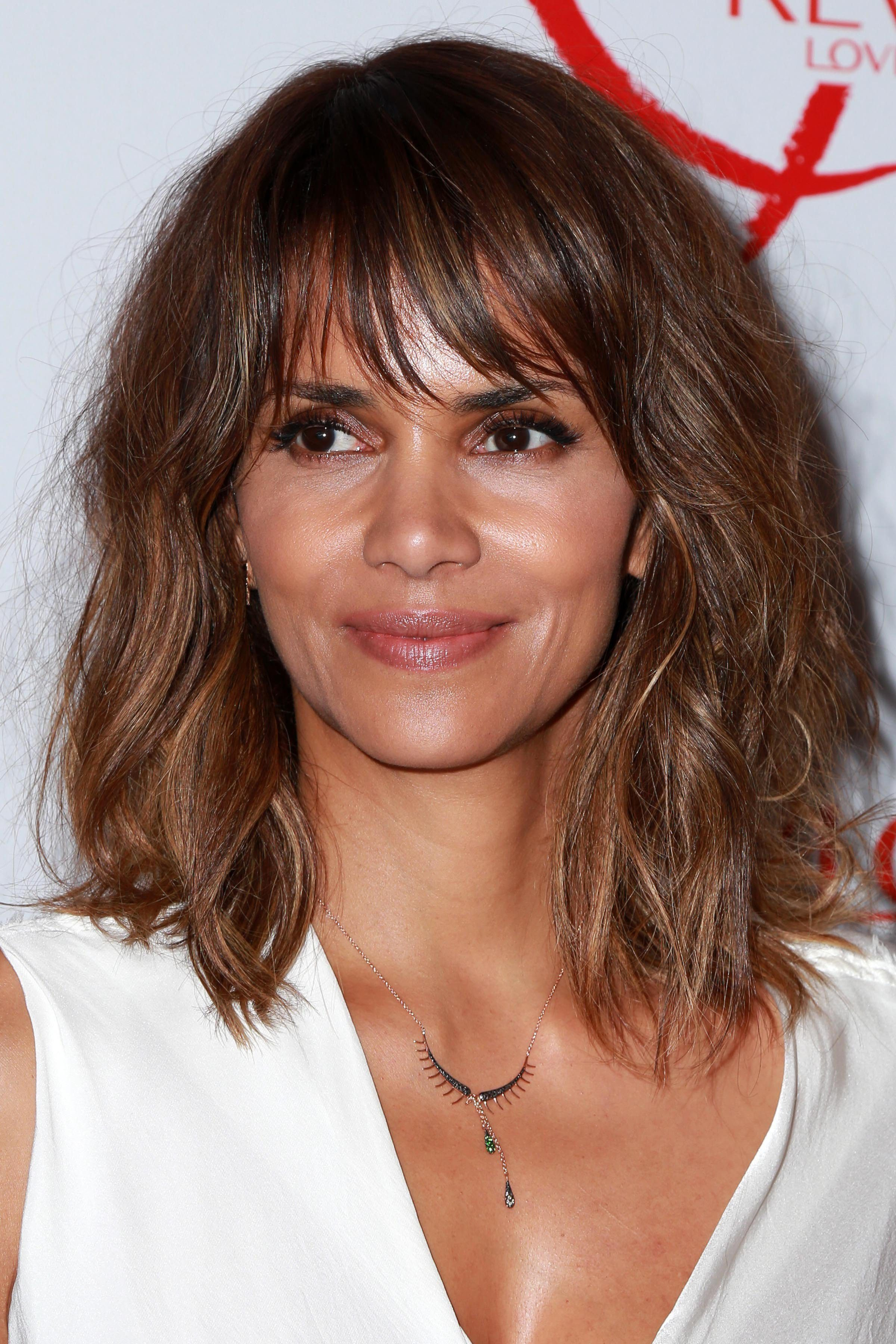 Halle Berry's Shag with Bangs