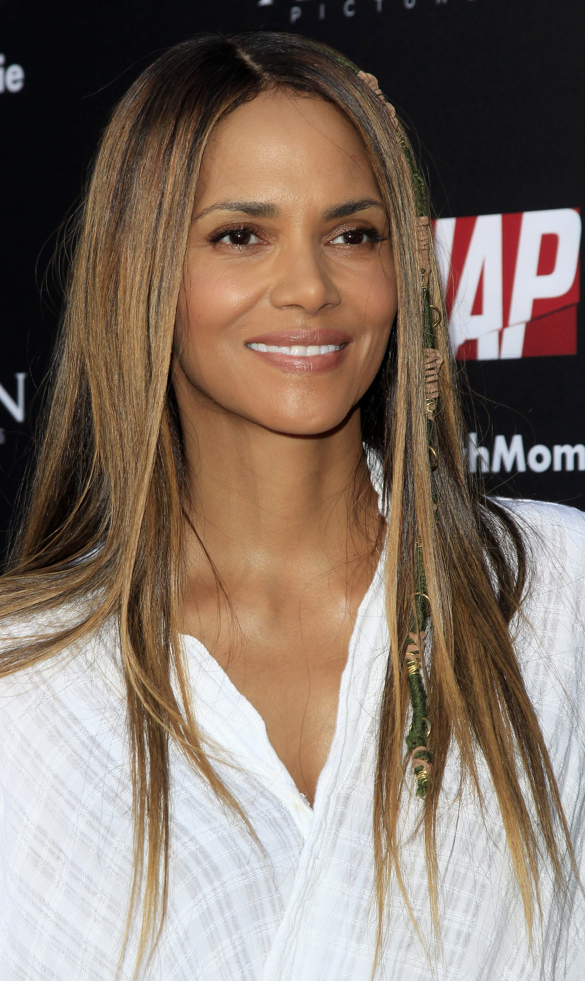 Halle Berry's Straight Long Layers