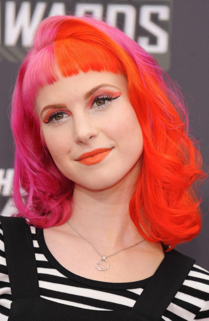 Hayley Williams' Two-Toned Style
