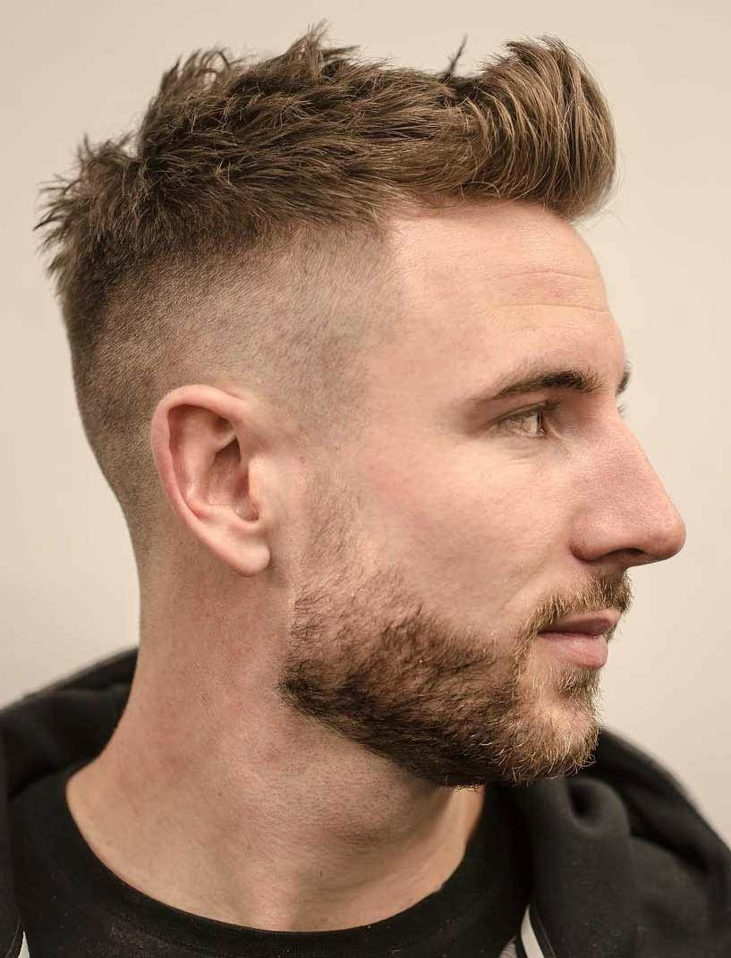 High Fade Undercut + Brushed Up Front