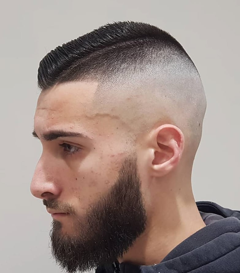 High Fade and Disconnected Part
