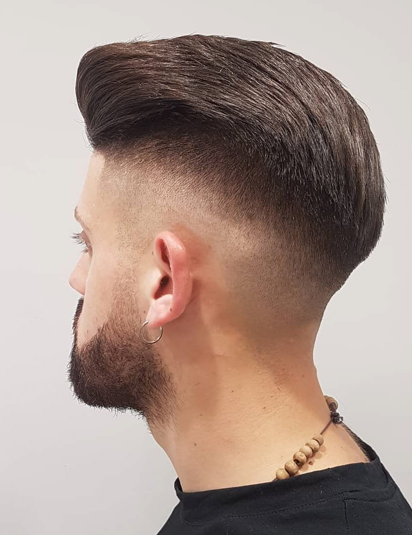 High Fade and High Volume Brush Back