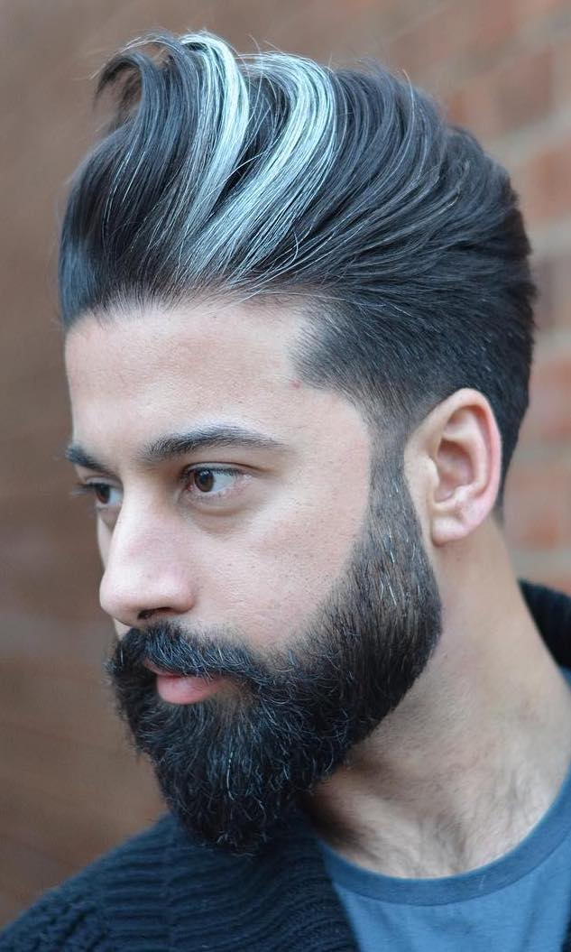 Show Off Your Dyed Hair 10 Colorful Men S Hairstyles