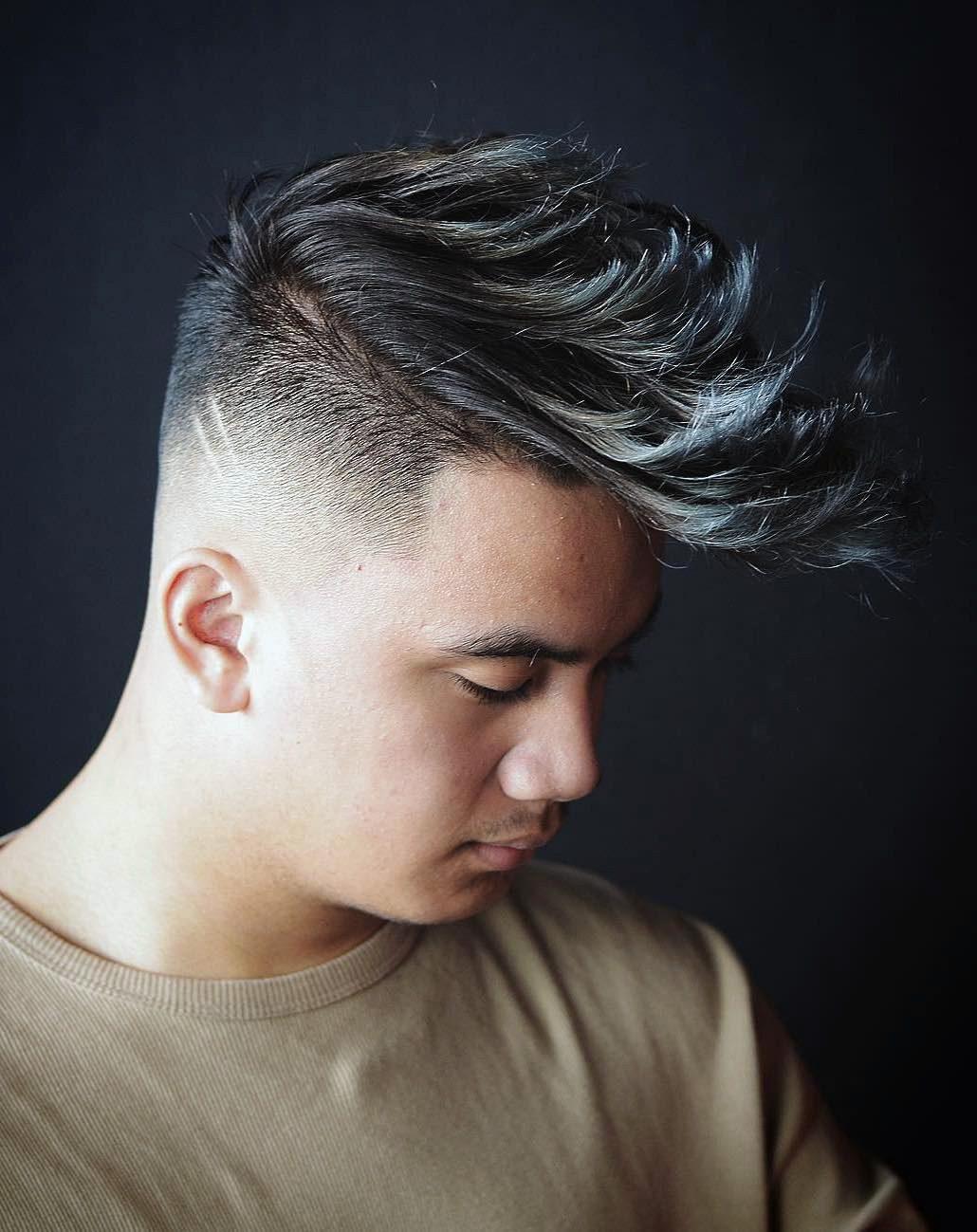 Highlighted Wavy Hair