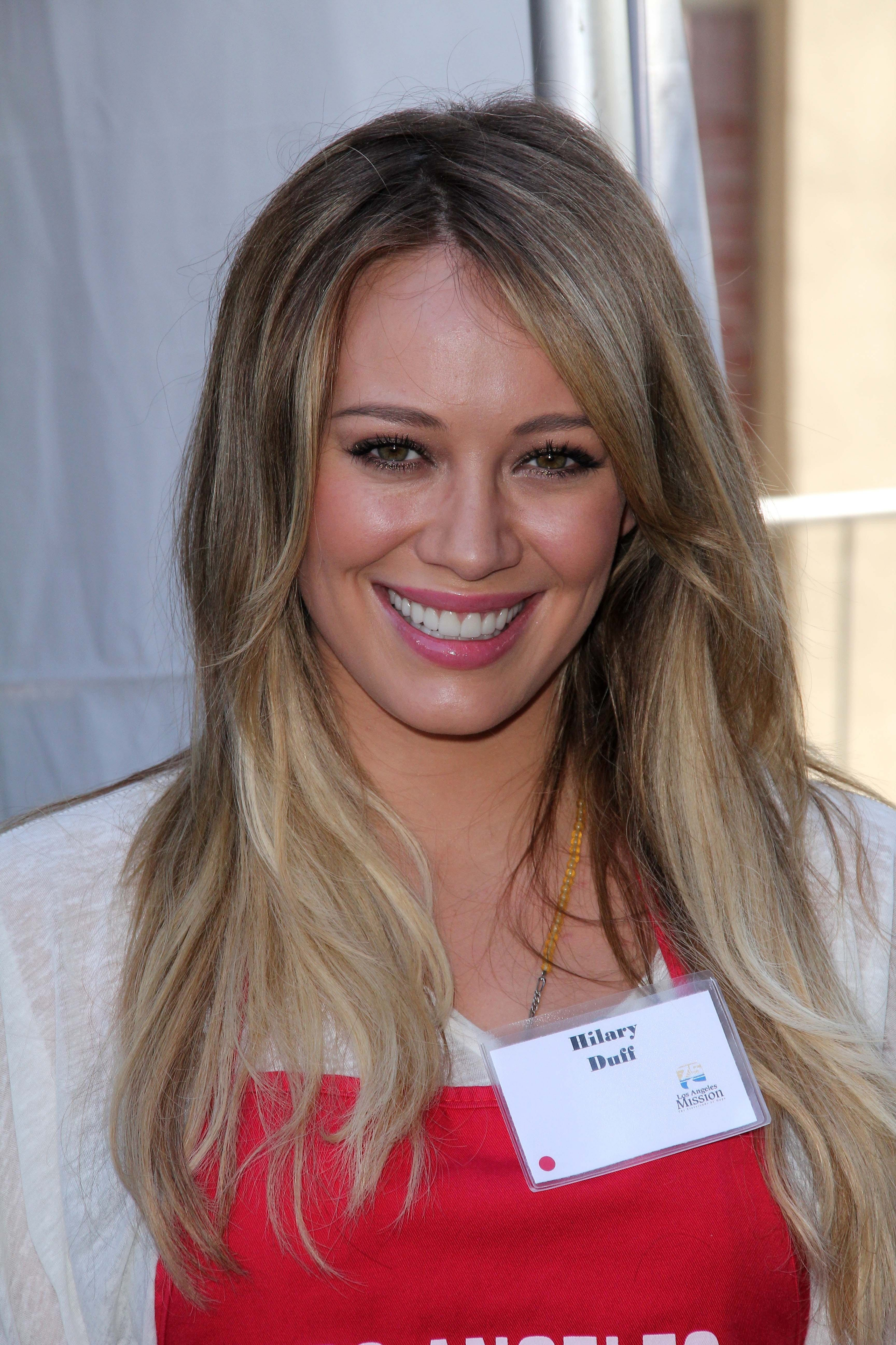 Hilary Duff's Dirty Blonde Ombre