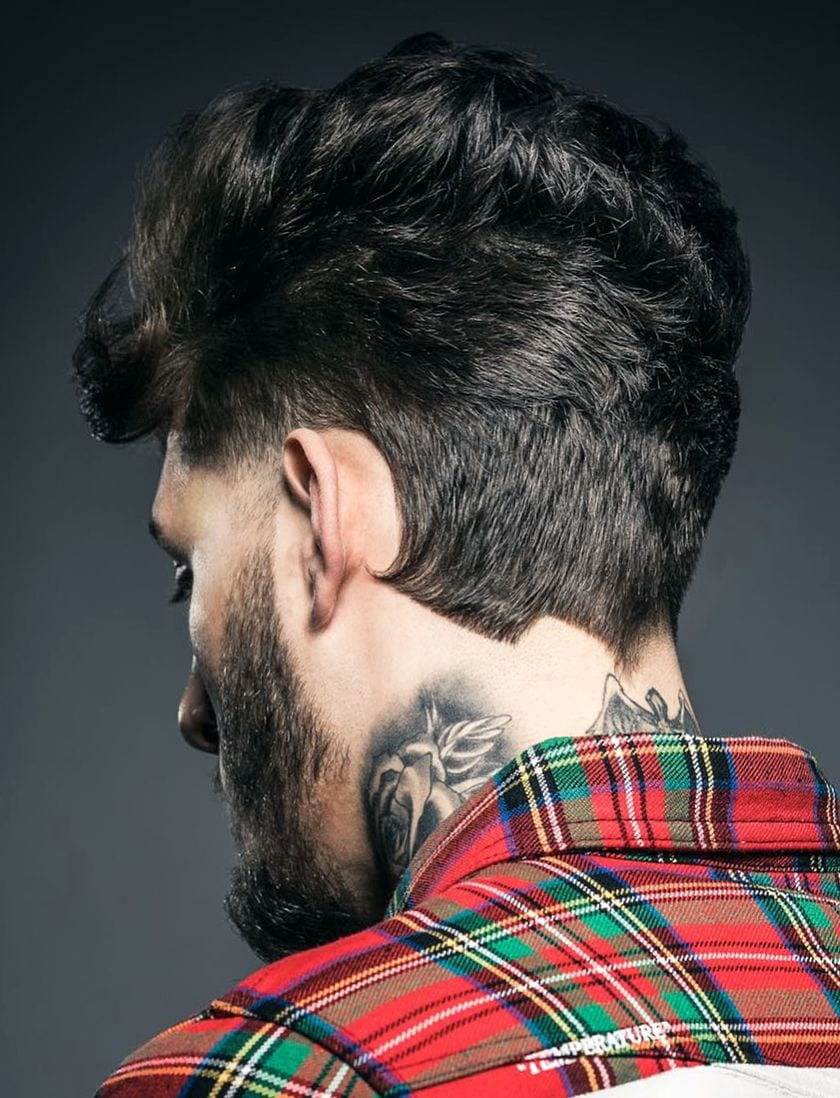 Hipster with Straight Neckline Cuts