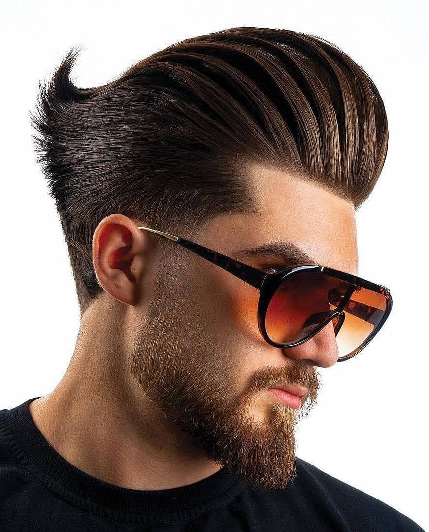 Is Mustache Pompadour a Thing?