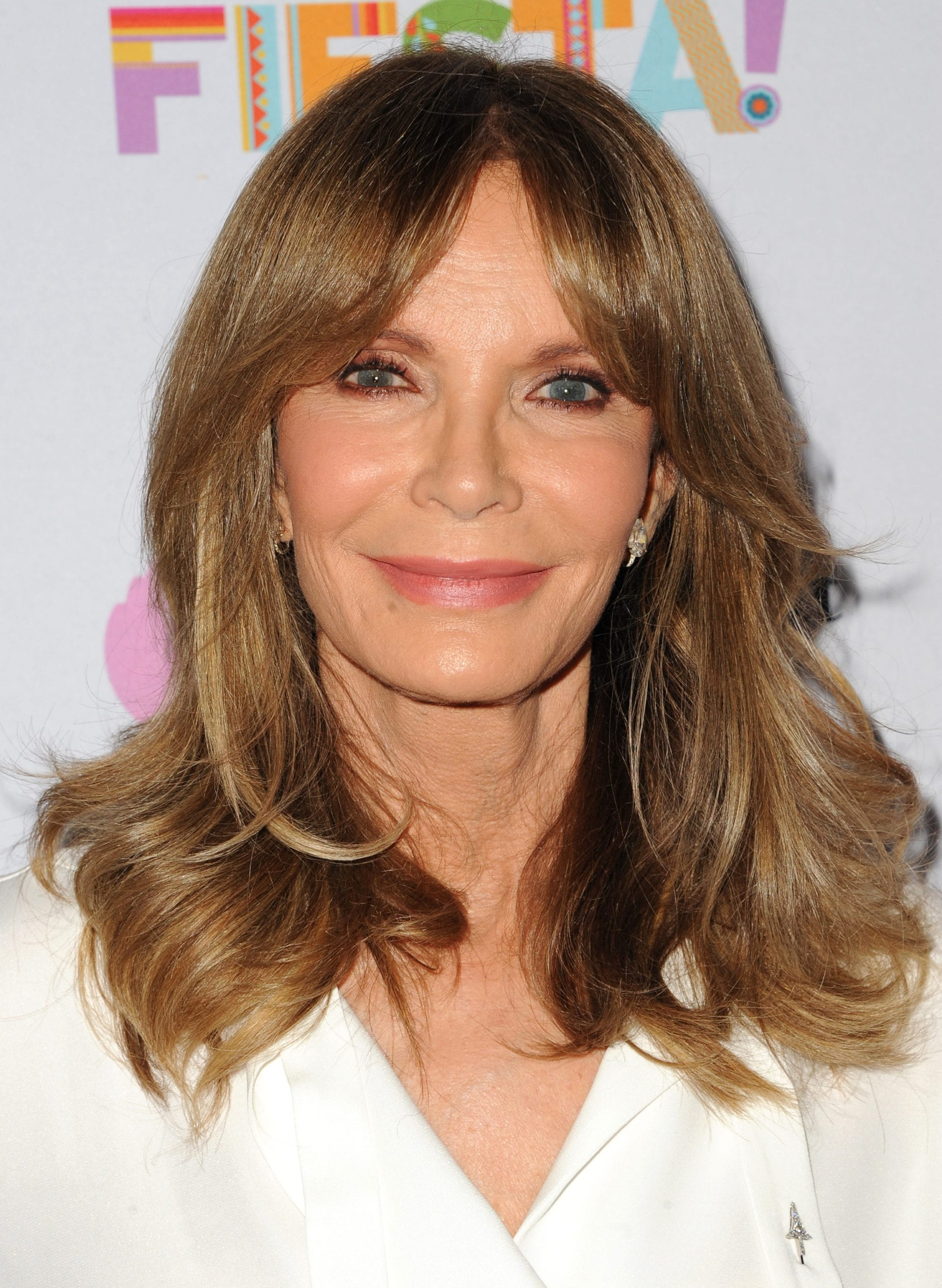 Jaclyn Smith's Curtain Bangs