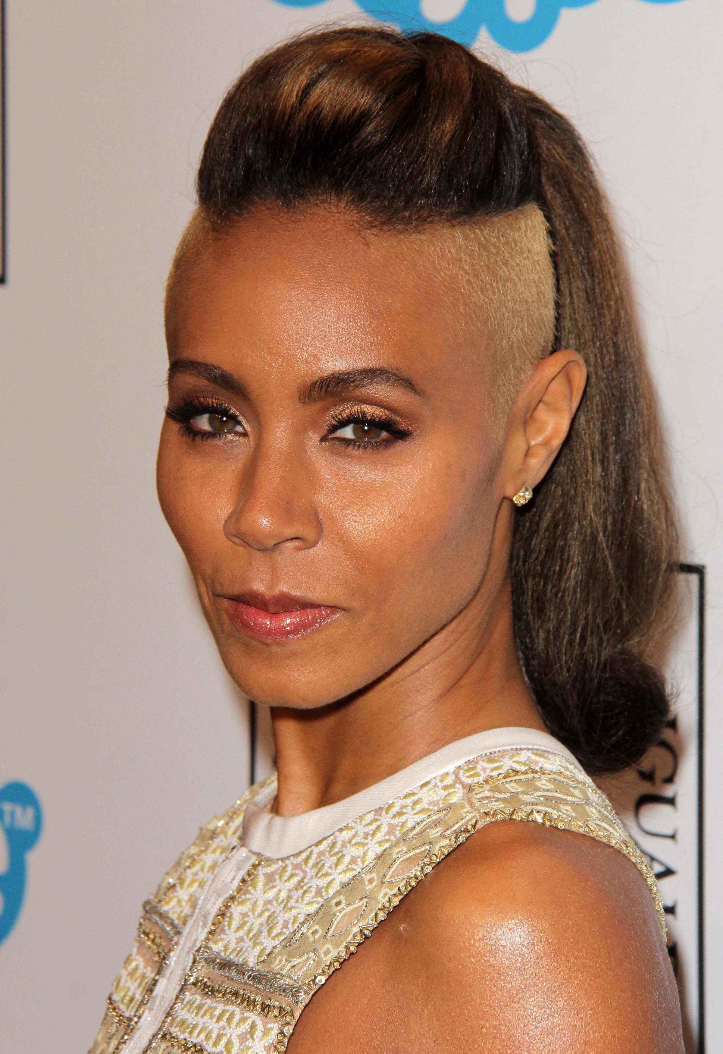 Jada Smith Spicing Up with Her Pony and Dye