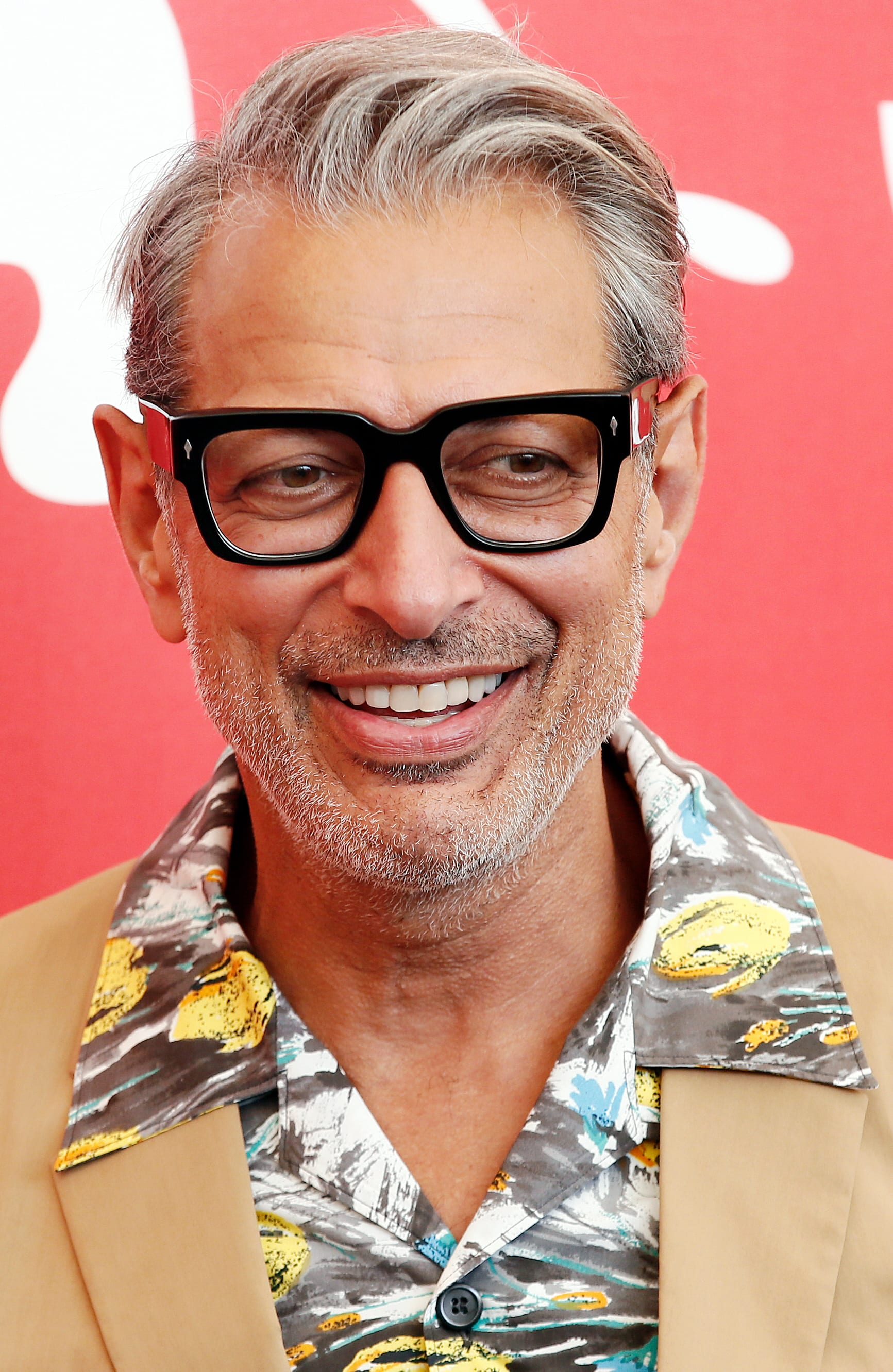 Jeff Goldblum's Natural Side Part