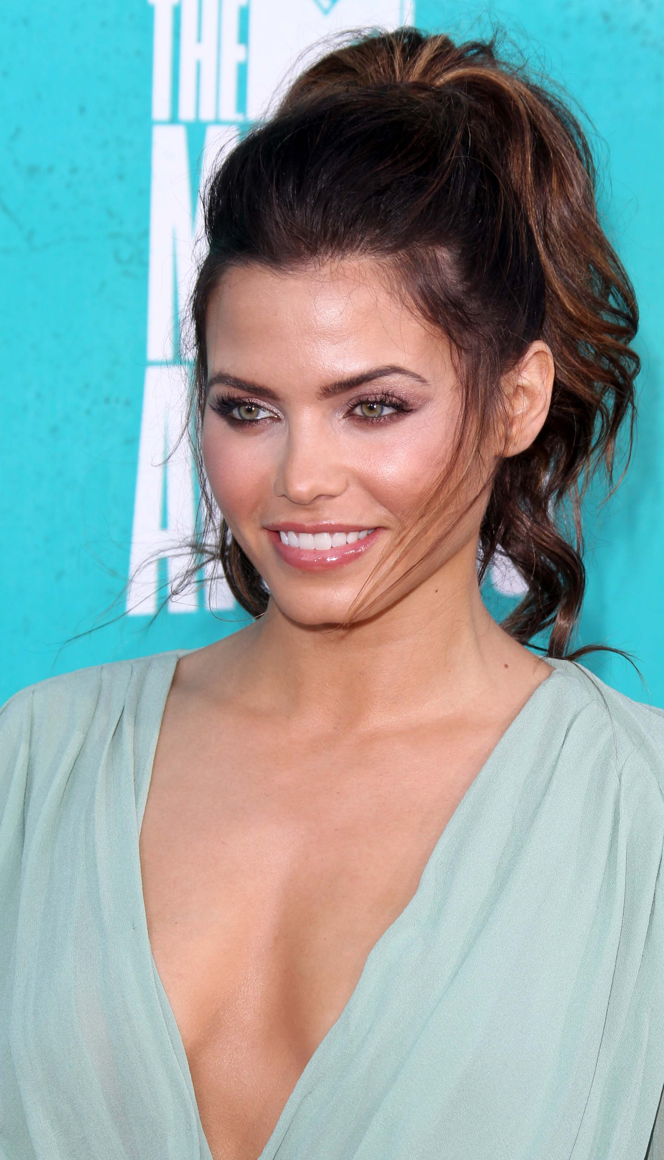 Jenna Dewan's High Ponytail